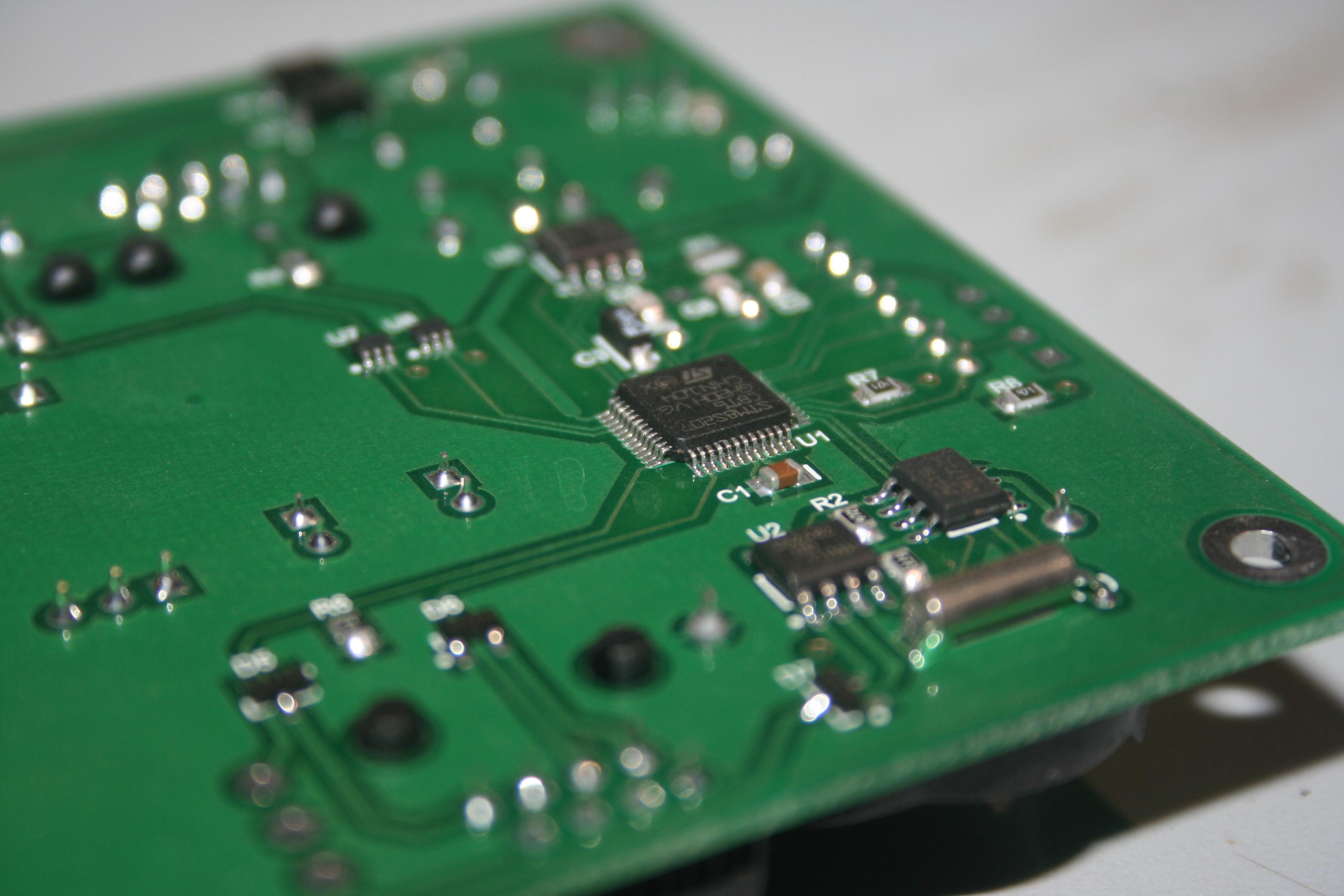 Пайка электронных схем